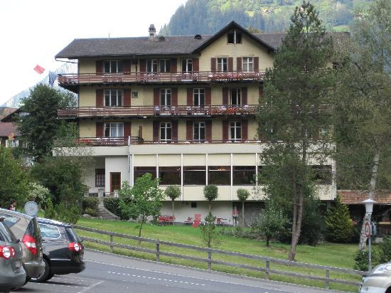 Hotel Staubbach: Another Street View of Balconies