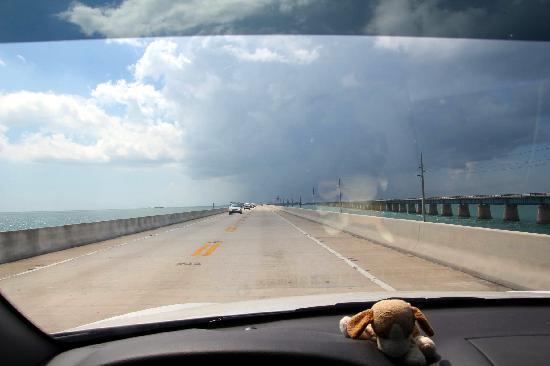 Seven Mile Bridge: The start of the 7 Mile bridge
