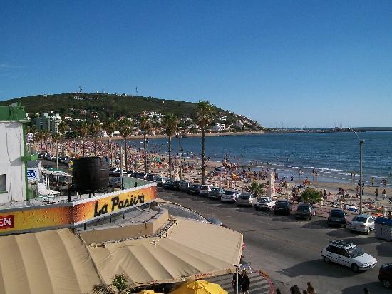 Hotel Rivadavia: Vista de la playa