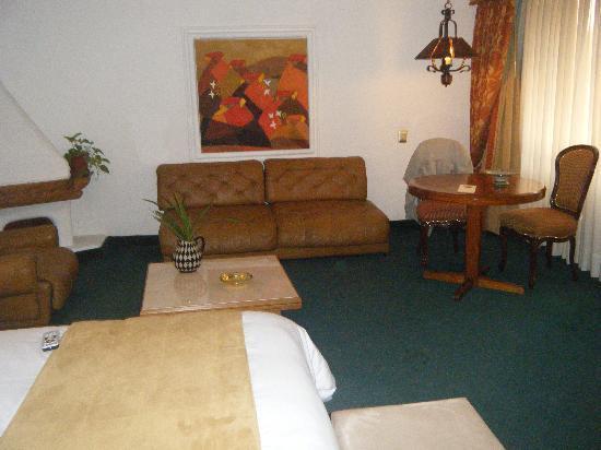 Antara Hotel: estar dela pieza hotel Antares