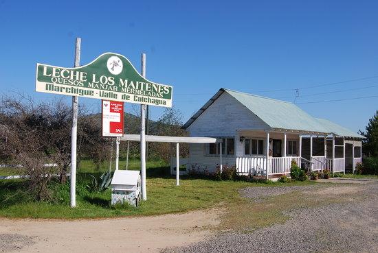 Marchigüe, Chile: Tienda productos de la Granja