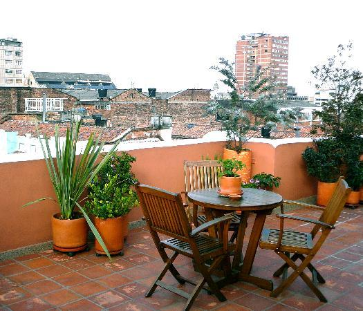 Hotel Casa Deco : Another view of the rooftop deck for Casa Deco guests.