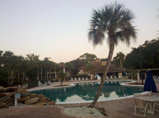 Legacy Vacation Resorts-Palm Coast: Huge pool.  Very nice.