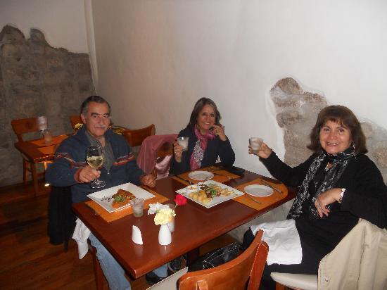 Tayta Inti: cena en el restaurant