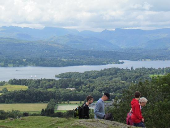 Holmlea Guest House: View from Orrest Head