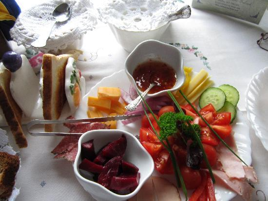 Carrig House: A Fabulous and Creative Breakfast Assortment . . .