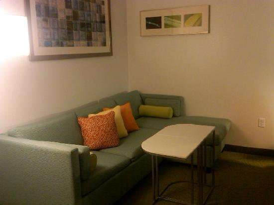 SpringHill Suites Detroit Auburn Hills: Sitting area
