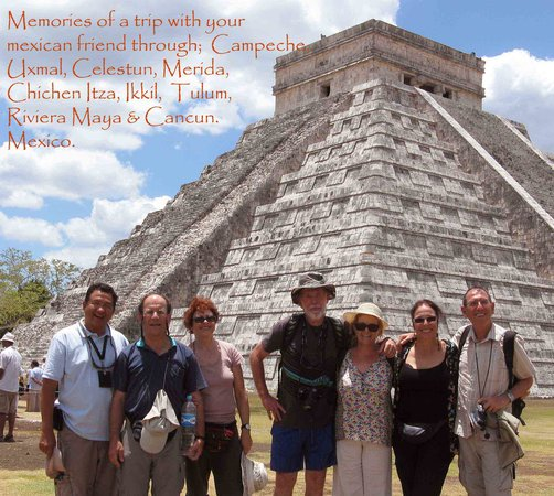 Chichen Itza With Jerry