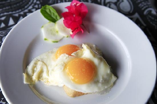 Palmlea Farms Lodge & Bures: Liebevolles Frühstück