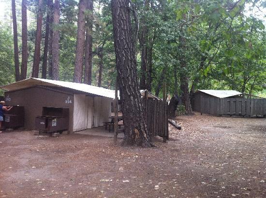 Housekeeping Camp : Outside Look and Bear Lockers