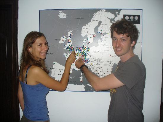 Sanya Backpackers: Ariane and Michael