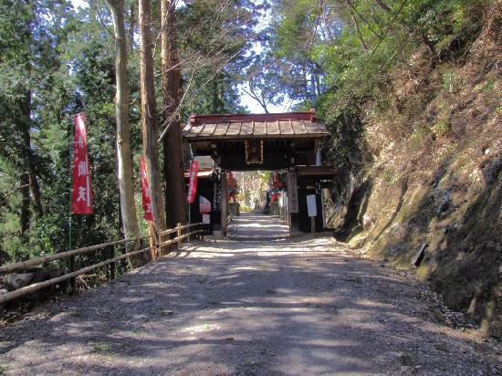 Tenryuji Temple : 黒門