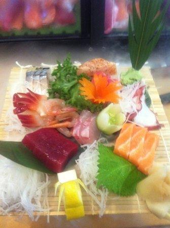 Tokyo Japan: sashimi