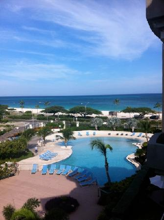 Oceania Deluxe Beachfront Resort: view from Unit Eagle 422-2