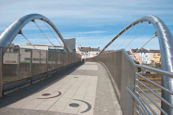 Celtic Gateway Bridge: On top of the bridge