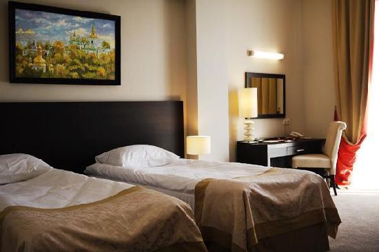Reikartz Dnеpropetrovsk Hotel: Twin bedroom