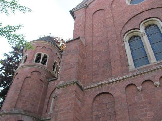 Mutterhauskirche St. Josef: view
