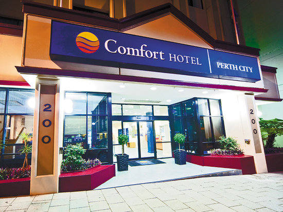 Comfort Hotel Perth City: Hotel Entrace