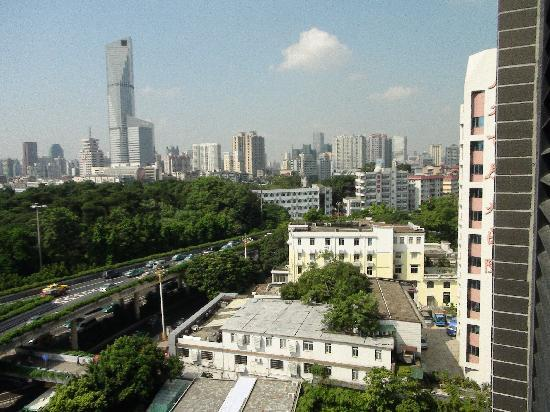 Private-Enjoyed Home Service Apartment Guangzhou Times You Apartment: view from the tenth floor