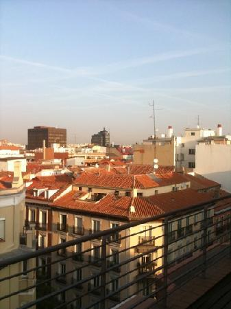 NH Madrid Lagasca: view from the room