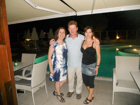 Hotel Areti: Raluk , Dianna and me