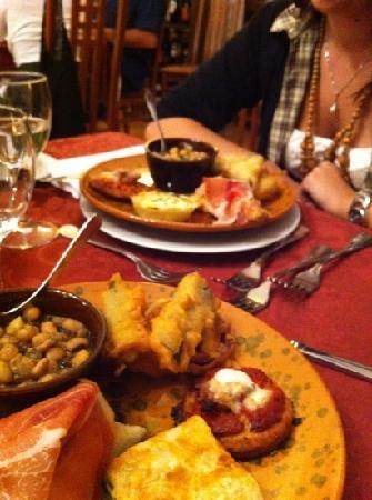 Villa Taticchi: antipasti misti (anche senza glutine)