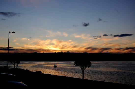 The Bayview Hotel: Late September Sunset