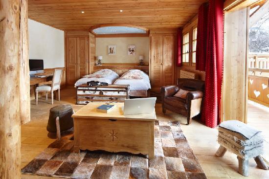 Hotel Chalet Mounier : La Suite
