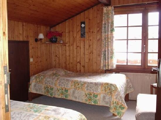 Chalet Pyrene : Chambre 2è étage