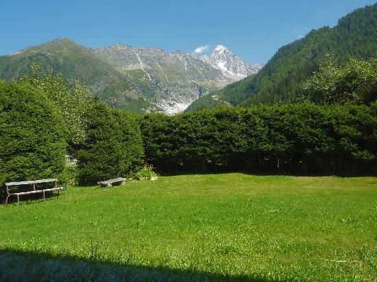 Chalet Pyrene: jardin