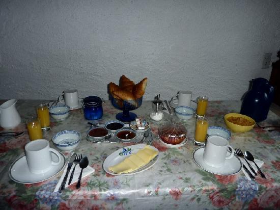 Chalet Pyrene: Petit déjeuner