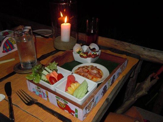Evason Hua Hin: Good selection on childrens menu