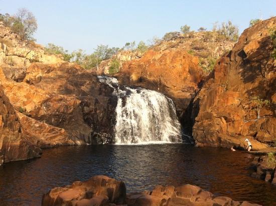Edith Falls Campground: upper pool Edith Falls