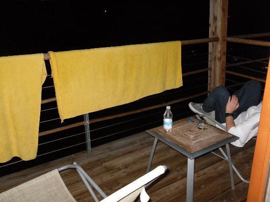 Garda Sporting Club Hotel : balcone..