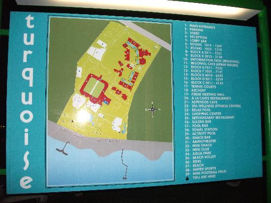 Map Picture of Turquoise Resort Hotel Spa Side TripAdvisor