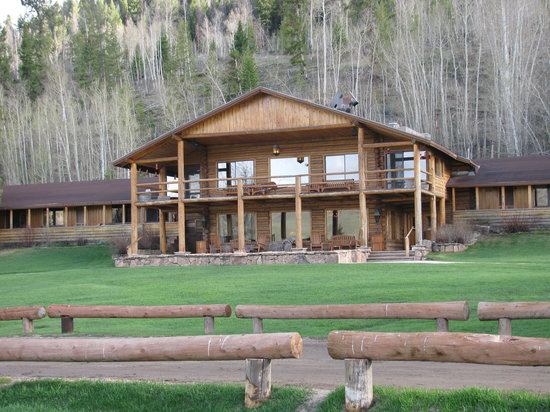 C Lazy U Ranch: The lodge