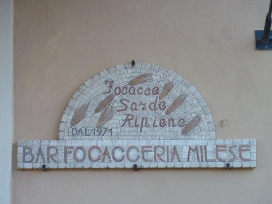 Bar Focacceria Milese: Het Logo...