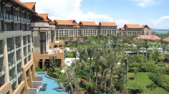 Renaissance Sanya Resort & Spa: Resort View From Level 7