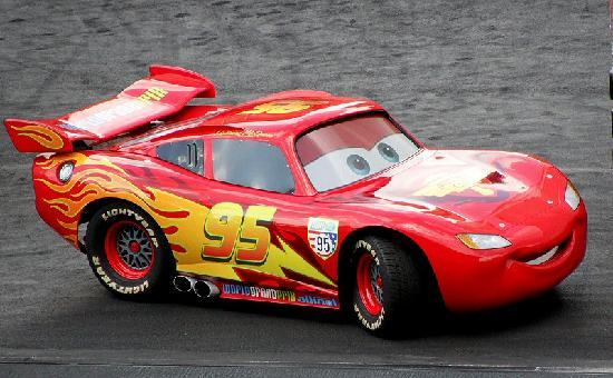 Lightning McQueen - Picture of Disney's Hollywood Studios