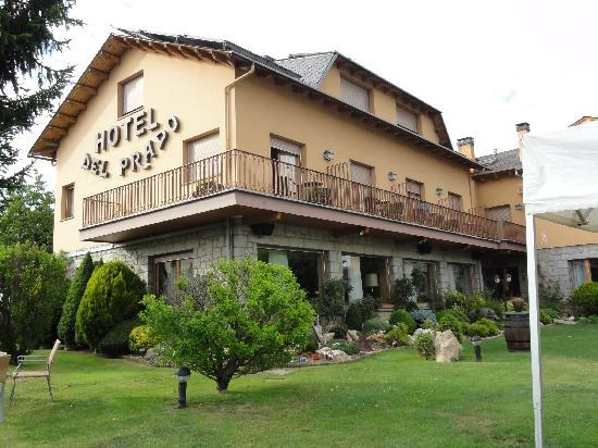 Hotel del Prado: Hotel desde el jardín