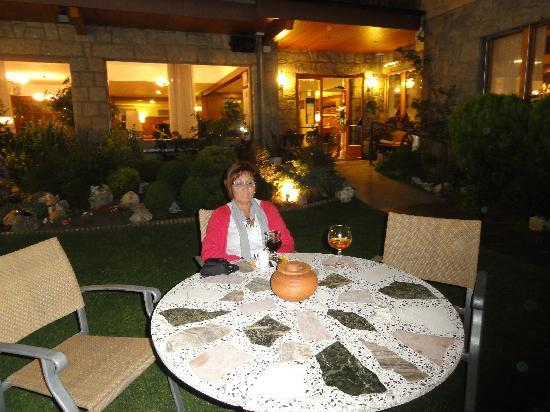 Hotel del Prado : A la luz de la luna, jardín