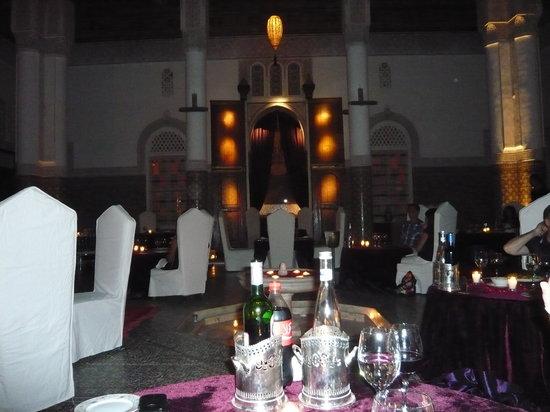 Palais Soleiman : restaurant