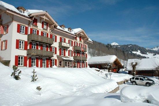 Hotel du Pillon: En hiver