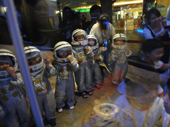 Baby Boss: Astronauts (Only rocks? I thought I would meet an allien. Maybe next time.)