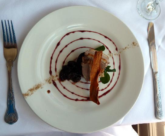 Frederick's Restaurant: Duck starter from lunch menu