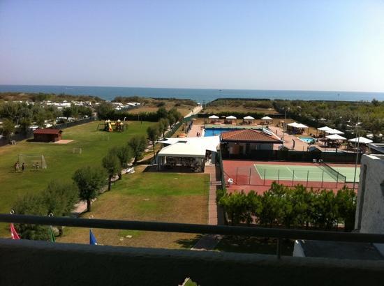 Residence Novamarina: foto dall appartamento