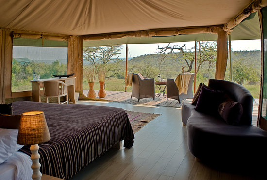 Kicheche Valley Camp: View from tented safari suite