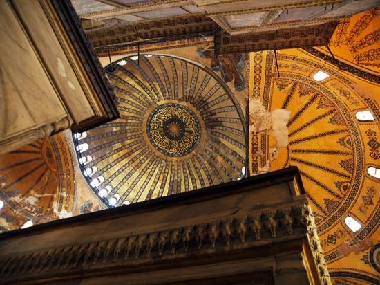 พิพิธภัณฑ์ฮาเจียโซเฟีย: Byzantine and Ottoman touches