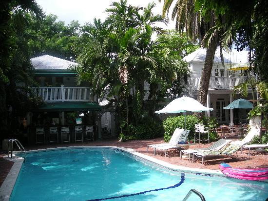 Took this from our porch picture of the gardens hotel for Chelsea pool garden key west