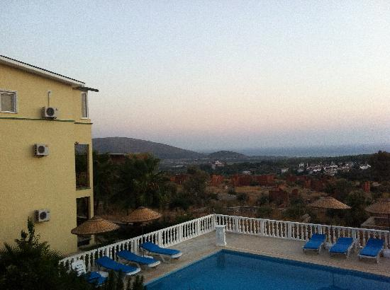 Gelemis Apart Hotel : Blick auf Patara und das Meer